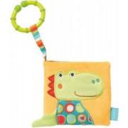 Fehn Carte din plus pentru bebelusi - Crocodil