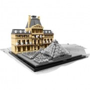 Lego architecture - louvre