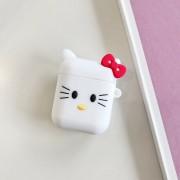 AirPods tok, rajzfilm figurás - Fehér Hello Kitty
