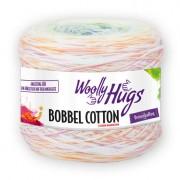 Woolly Hugs Bobbel Cotton von Woolly Hugs, Color/Weiss/Orange/Gelb/Grün/Blau