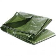 Maxpack 20740 Plachta zakrývací s oky 15x20m 65g/m2 zelená