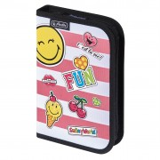 Penar neechipat dimensiune 19,3x13,5x3,5 cm, motiv SmileyWorld Girly