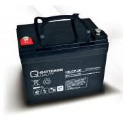 Batería para UPS-SAI 12v 36Ah Plomo Agm Q-Batteries 12LCP-36