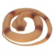 Merkloos Decoratie cobra slang bruin 117 cm