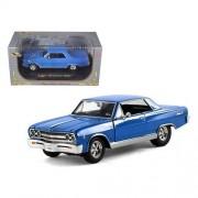 1965 Chevy Malibu , Blue - Signature Models 32432 - 1/32 Scale Diecast Model Toy Car