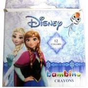 Кутия пастели 12 цвята Frozen, St. Majewski, 5701359749071