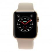Apple Watch Series 3 - caja de aluminio en oro rosado 42mm - correa deportiva rosa (GPS+Cellular) refurbished