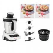 Moulinex Volupta Cooking Machine, 5 accessori e 2 ricettari