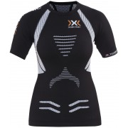 X-Bionic The Trick OW Hardloopshirt korte mouwen Dames zwart L 2018 Compressie shirts