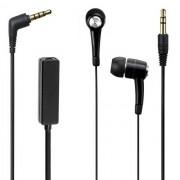 Maxy Auricolare A Filo Stereo Jack 3.5mm In-Ear Universale Con Microfono Exi9300 Black Per Modelli A Marchio Microsoft