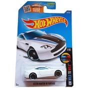 Hot Wheels, 2016 HW Mild to Wild, Aston Martin V8 Vantage [White] #56/250