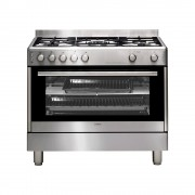 Euromaid GG90S 90cm Freestanding Cooker - Gas Oven + Gas Cooktop