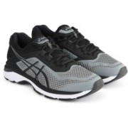 Asics GT-2000 6 Running Shoes For Men(Black, Grey)