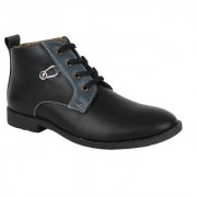 Yellow Tree Good High Quality Black High Ankle Designer Boot Shoes For Mens Boys ( YT 43164 )
