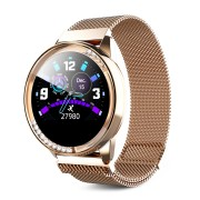 LEMFO LT05 Fashion Femal Smart Watch Heart Rate Sleep Monitoring Women Watch - Gold