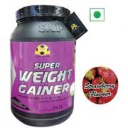 Sap Nutrition Super Weight Gainer 2Kg Strawberry Flavour
