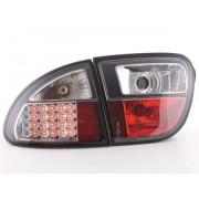 FK-Automotive LED feux arrières pour Seat Leon (type 1M) An 1999-2005, noir