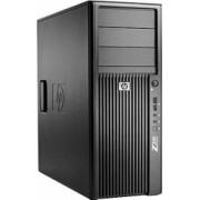 Calculator HP Z200 Tower Intel Core i7-860 3.46 GHz 4 GB DDR3 250 GB HDD DVD placa video Ati Radeon HD6450 Windows 10 Home Refurbished