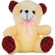 Planet of Toys Soft Teddy for kids/Girls Gift for Valentine/ Birthday/ Anniversary for your Love Once - 12 Inch (Peach)