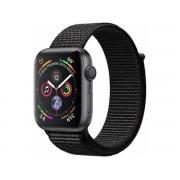Apple Watch Series 4 Gps, 40mm Gwiezdna Szarość Z Opaską W Kolorze Czarnym