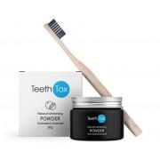 Sensilab Teethtox Pulver zur Zahnaufhellung 100 % natürlich Mit Aktivkohle-Pulver Wirkung ab der ersten Anwendung 20g Sensilab