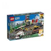 Lego KLocki LEGO City 60198 Pociąg towarowy