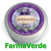 NOU! Crema cu apa de lavanda si unt de shea 150 ml Herbagen