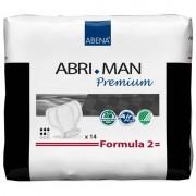 Abena - Abri-Man Formula Pack de 12 sachets de Abri-Man Premium Formula 2