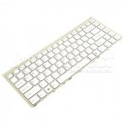 Tastatura Laptop Sony Vaio PCG-3B2L Alba cu rama + CADOU