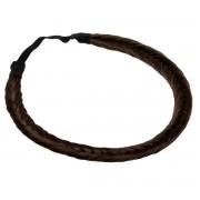 Rapunzel® Styling e cura del capello Synthetic Braided Headband 2.2 Coffee Brown 0 cm