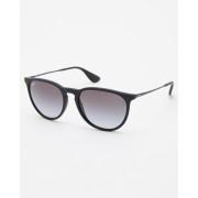 Ray-Ban Round 54 Sunglasses Nero Gommato Grey