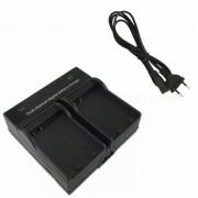 Ismartdigi EL14 Bateria de la camara Cargador dual para Nikon D3200 (enchufe de la UE)