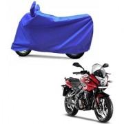 Intenzo Premium Full Blue Two Wheeler Cover for Bajaj Pulsar AS 150