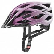 Uvex I-Vo cc Casco per bici (52-57 cm;56-60 cm, nero/grigio/fuchsia;nero/grigio)