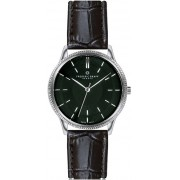 Frederic Graff Broad Peak Black Croco Leather Strap Watch FBX-B001S