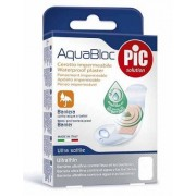 Pic/Pikdare Cerotti Aquabloc Antibatterici strip Medium mm. 19 x 72