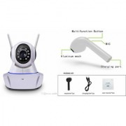 Zemini Wifi CCTV Camera and HBQ I7R Bluetooth Headset for LG OPTIMUS G PRO(Wifi CCTV Camera with night vision  HBQ I7R Bluetooth Headset )