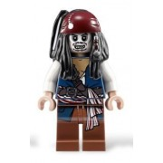 Jack Sparrow - Lego Pirates of the Caribbean Minifigure