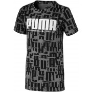Puma Active Sports Aop T-Shirt, Black 104