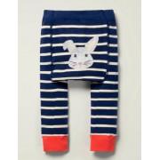 Boden Navy Strick-Leggings Baby Baby Boden, 80, Blue