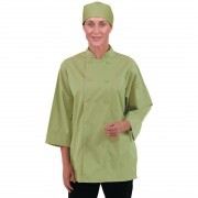 Chef Works Unisex Chefs Jacket Lime XS Size: XS