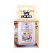 Yankee Candle Vanilla Cupcake Car Jar zapach samochodowy 1 szt unisex