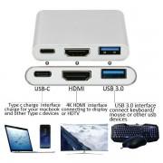 Asonic USB Tip C na HDMI, USB 3.0, USB Tip C N-UC06