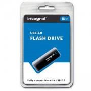 USB Flash памет Integral Black USB 3.0, 16GB, INT3USB16GB