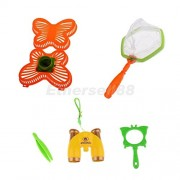 Tradico® 6pc Nature Playset Child Kid Bug Net Catcher KIT Insect Magnifying Glass Toy
