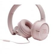 HEADPHONES, JBL T500, Microphone, Pink (JBLT500PINK)