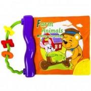 Carte bebe din plus ferma animalute educativa