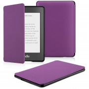 Funda Microfibra Fibra Kindle Paperwhite Waterpoof Morado