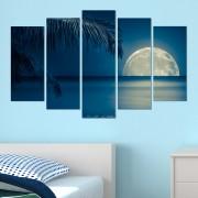 Декоративeн панел за стена с морски залез от Vivid Home