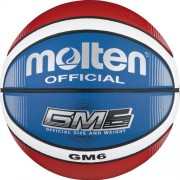 molten Basketball BGMX7-C (Indoor/Outdoor) - blau/rot/weiß | 6